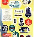 Doctor Who sticker sheet
