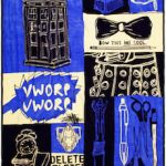 Doctor Who Blanket With Squares