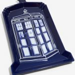 Dr. Who Tardis Shaped Serving Tray