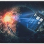 Doctor Who Tardis And A Planet Bath Mat