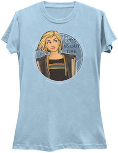 13th Doctor It's About Time T-Shirt