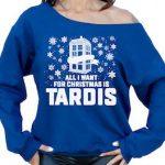 All I Want For Christmas Is Tardis Christmas Sweater