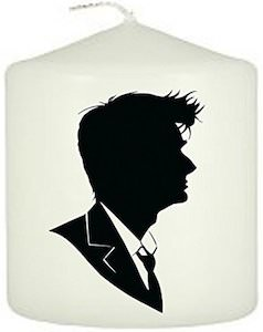 10th Doctor Who Candle