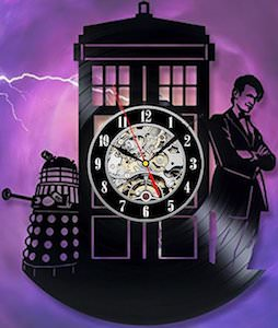 11th Doctor Vinyl Wall Clock