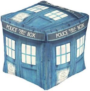 Doctor Who Tardis Pouf