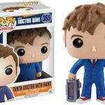 10th Doctor And A Hand Figurine