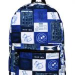 Patchwork Doctor Who Backpack