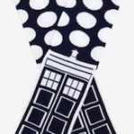 Dalek Dots And The Tardis Socks