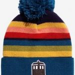 Tardis And The Style Of The 13th Doctor Winter Hat