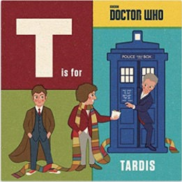 Kids T Is For Tardis Book