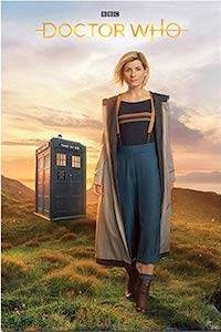 Poster Of The 13th Doctor And Her Tardis