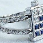 Dr Who Tardis Engagement Ring