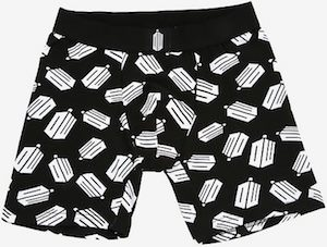 Black Doctor Who Boxer Shorts