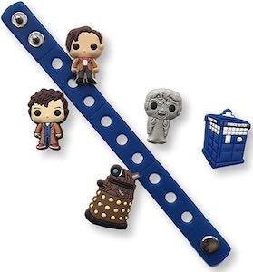 Doctor Who Crocs Charms And Bracelet Set