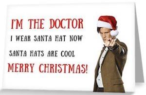 Santa Hats Are Cool Christmas Card