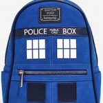 Dr Who Loungefly Tardis Backpack