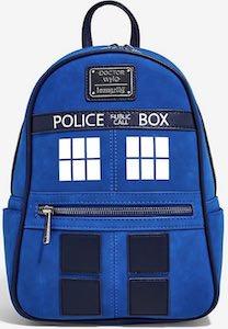 Loungefly Tardis Backpack