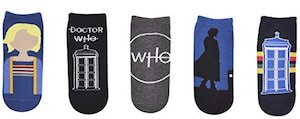 Tardis And The 13th Doctor Socks 5 pairs