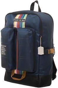 Doctor Who Tardis Fun Pocket Backpack