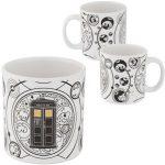 Doctor Who Tardis And Gallifrey Symbols Mug