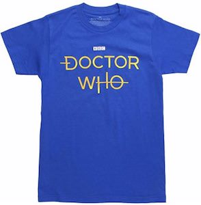 The New Doctor Who Logo T-Shirt