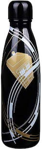 Doctor Who Tardis Black And Gold Water Bottle