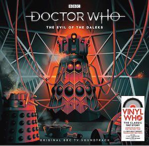 The Evil Of The Daleks Vinyl Record Soundtrack