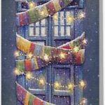 Doctor Who Stylish Decorated Tardis Christmas Card