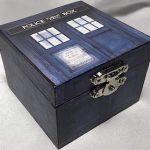 Doctor Who Tardis Engagement Ring Box
