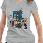 Doctor Who A Comical Doctor And The Tardis T-Shirt