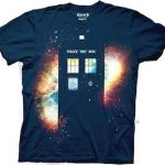 Doctor Who The Galaxy And The Tardis T-Shirt