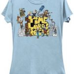 Doctor Who Time Lords Rock T-Shirt