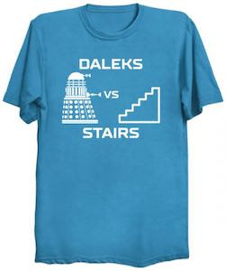 Stairs And Daleks T-Shirt