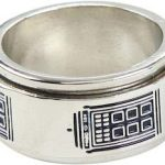 Doctor Who Tardis Ring That Spins