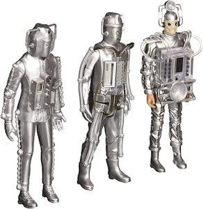 Doctor Who Cyberman 3 Piece Action Figure Set
