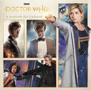 2021 Doctor Who Mini Wall Calendar