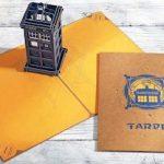 Doctor Who Tardis Pop Up Card