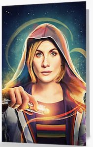 Greeting Card Of The 13th Doctor Who