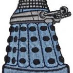 Doctor Who Dalek Patch