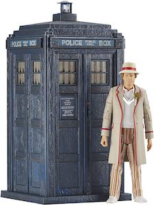 The Tardis And The 5th Doctor Toy Set