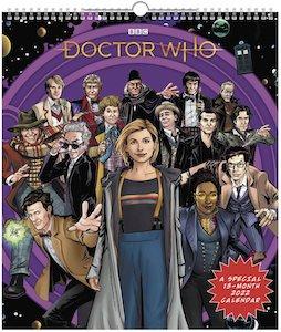 2022 Doctor Who Comic Poster Wall Calendar